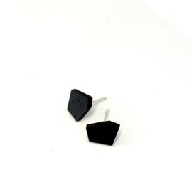 Mini X - zwart  leder