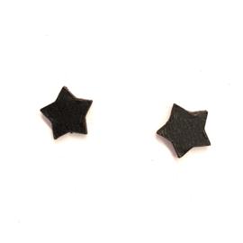 Mini Star - zwart leder
