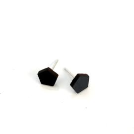 Mini 5 - zwart leder