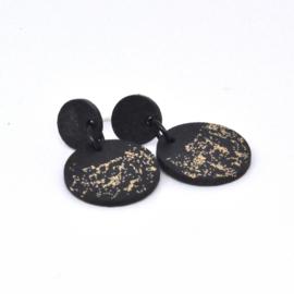 Sienna - Black & Gold sparkle