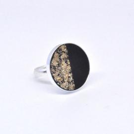 Ring - Black & Gold