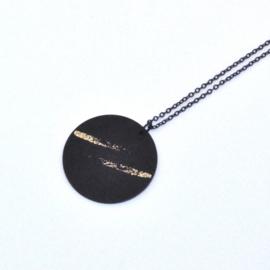 Tatiana - Black & Gold Stripes