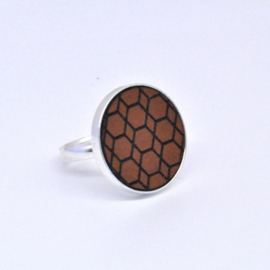 Ring - cognac2