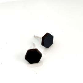 Mini 6 - zwart leder