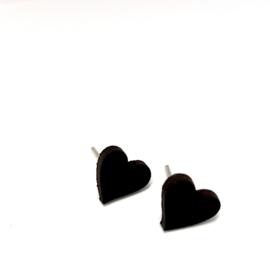 Mini Love - zwart leder