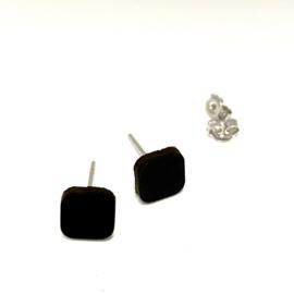 Mini 4 - zwart leder