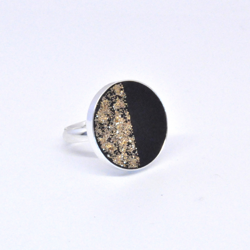 Ring - Black & Gold