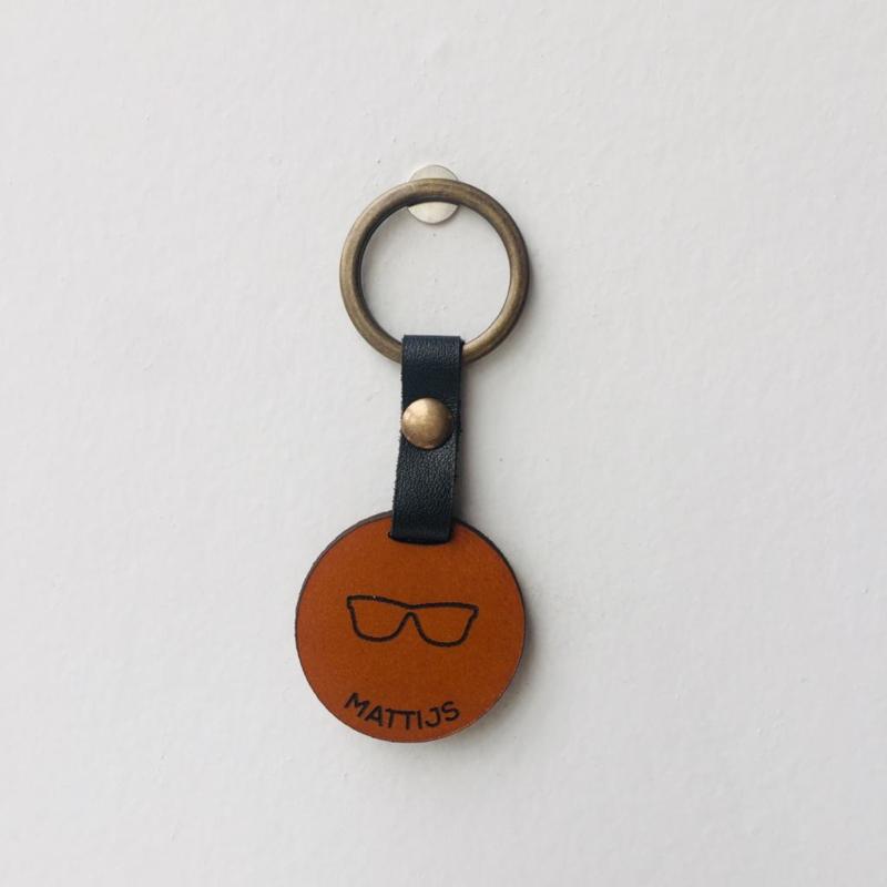 Sleutelhanger - sunglasses