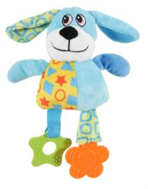 Zolux Puppy Plush Hond Blauw 22,5 x 7,5 x 20 cm