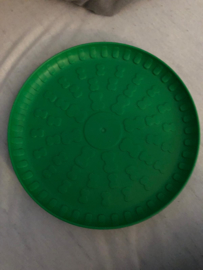 Dog toy frisbee groen