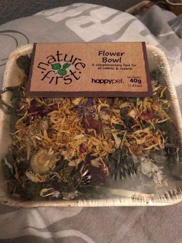 Eetbaren bloemen schaal