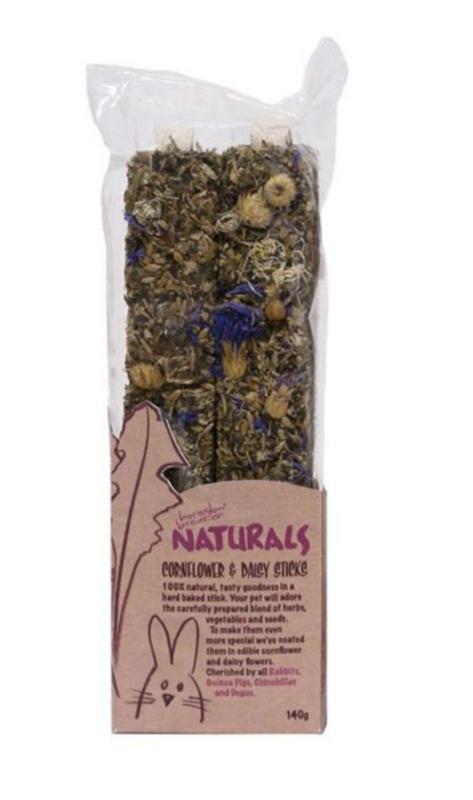 Rosewood Naturals Cornflower and Daisy Sticks 140g