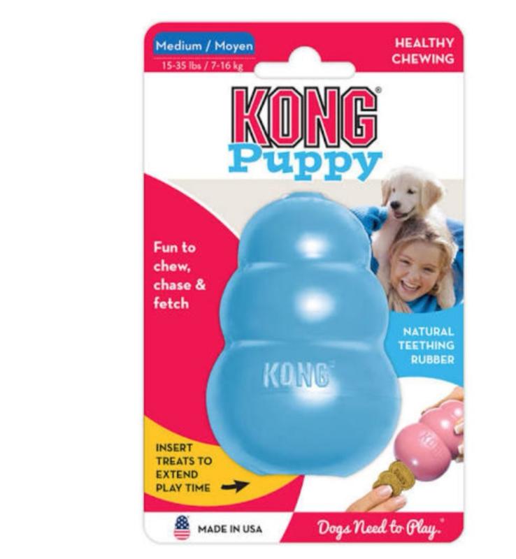 Kong puppy Medium blauw