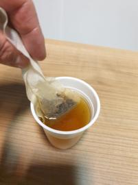 Pu Erh Orange .....Ideale thee om af te vallen.