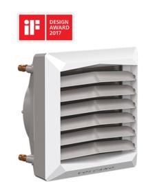 VOLCANO luchtverwarmer type VR1 30 kW ECO SERIE  3 jaar garantie
