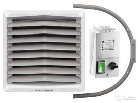 CV HEATER  luchtverwarmer type DELTA 30 kW  AC SERIE in SUPER SET  3 jaar garantie