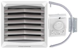 CV HEATER luchtverwarmer type DELTA 30 kW AC SERIE basic set  3 jaar garantie