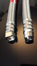 CVHEATER.NL DN 19 rvs flexibele slang 3/4  100 cm