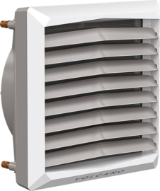 VOLCANO luchtverwarmer type VR3  75 kW  ECO SERIE in SUPER SET  3 jaar garantie