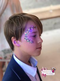 Blacklight Glitter Party