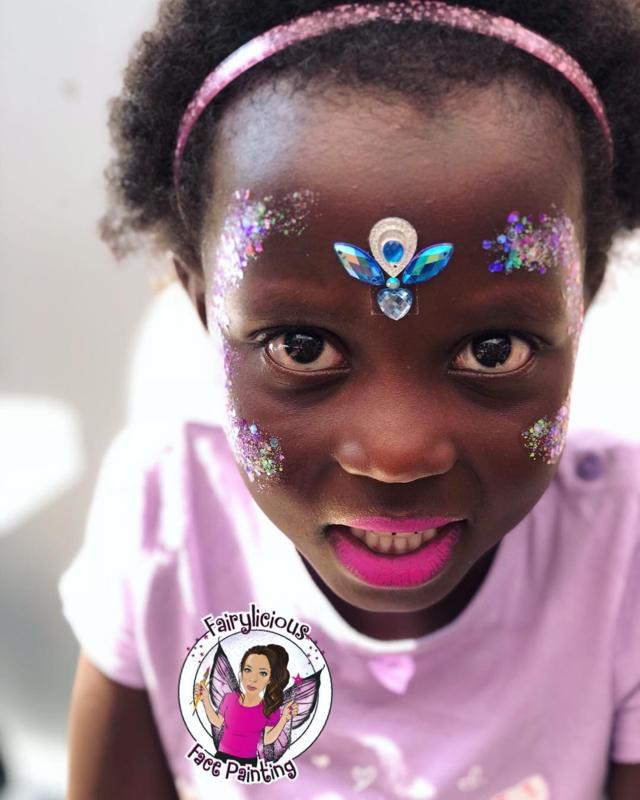 Festival Glitter met mini bling