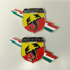 Set Abarth emblemen