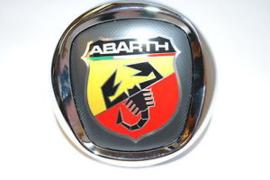 Embleem met drukknop achterzijde Punto Evo Abarth