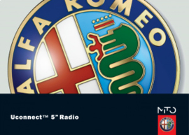 Handleiding Uconnect Radio navigatie Alfa Romeo Mito