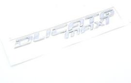 Embleem achterkant Fiat Ducato Maxi