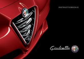 Instructieboekje Alfa Romeo Giulietta
