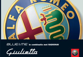 Handleiding Blue&me Alfa Romeo Giulietta