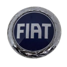 Embleem achterzijde Fiat diverse modellen blauw