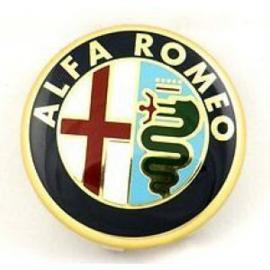 Naafdop 60mm Alfa Romeo Embleem (origineel)