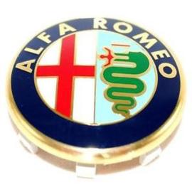 Naafdop 50mm Alfa Romeo Embleem (origineel)