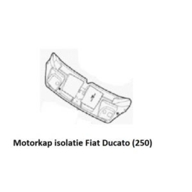 Motorkapbekleding Fiat Ducato (na 2006)
