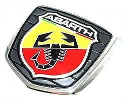 Abarth embleem achterzijde Fiat 500 (origineel Fiat)
