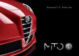 Instructieboekje Alfa Romeo Mito