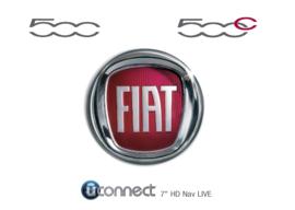 Handleiding Uconnect Radio navigatie Fiat 500
