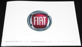 Service en onderhoudsboekje Fiat