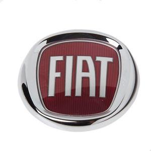 Embleem voorzijde Fiat diverse modellen rood