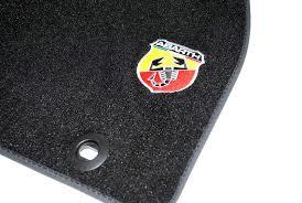 Mattenset Fiat Grande Punto met Abarth logo
