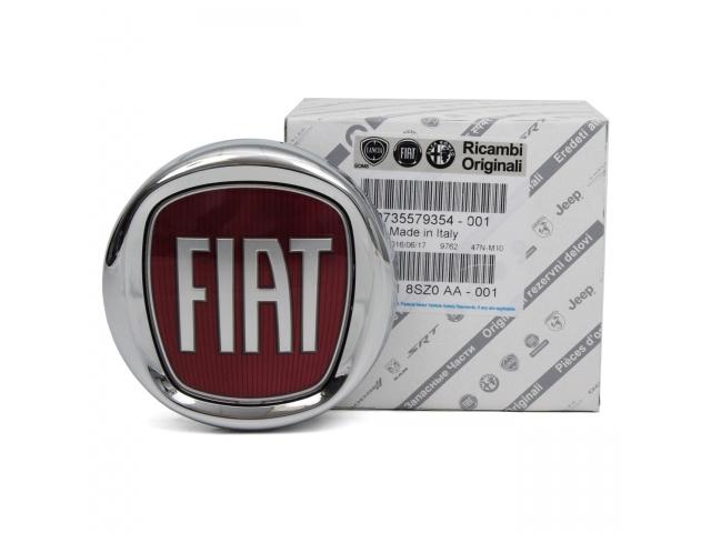 Embleem met drukknop achterzijde Fiat Bravo