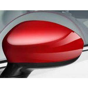 Set Spiegelkappen Fiat 500 / 500C in rood