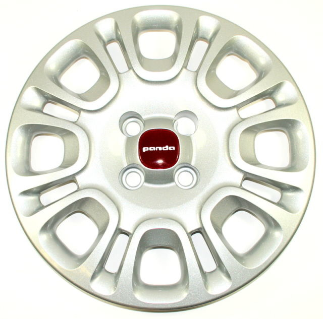 Wieldoppenset Fiat Panda (Model 2012) 14""