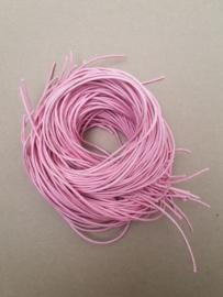 Koord roze 2mm, 60 cm