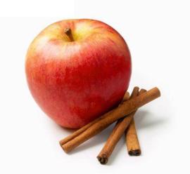 Geurolie Appel/Kaneel in een druppelflesje van 10 ml