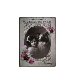 Tekstbord Journal de Paris