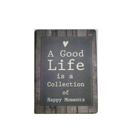 Tekstbord Good Life