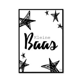 Baas poster