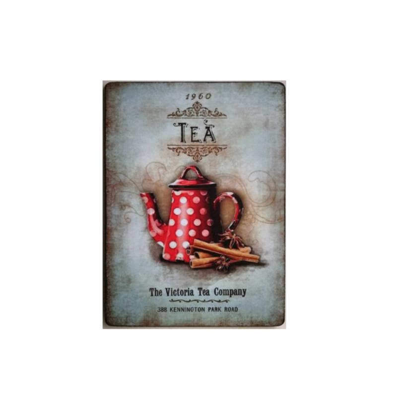 Tekstbord Vintage Tea